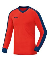 JAKO Keepershirt Striker flame/navy